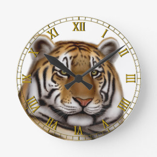 The Bengal Tiger Wall Clock