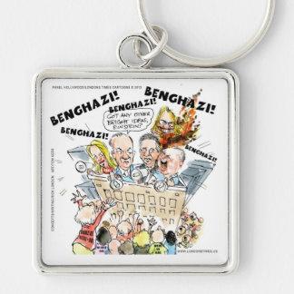 The Benghazi Shuffle Funny Keychain