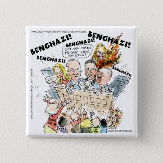 The Benghazi Shuffle Funny Pinback Button