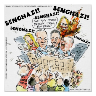 The Benghazi Shuffle Funny Poster