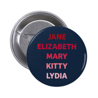 The Bennet Sisters from Pride and Prejudice Button