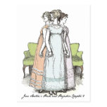 The Bennet Sisters - Jane Austen's P&P Ch 2 Post Card