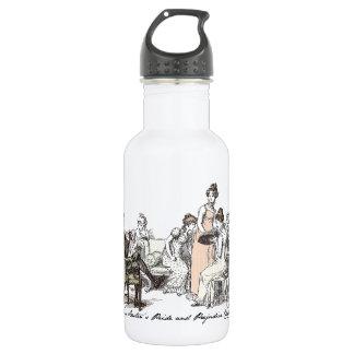 The Bennets of Longbourn - Jane Austen's P&P Stainless Steel Water Bottle