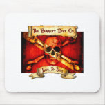 The Bennett Dive Company Flag Mouse Pad
