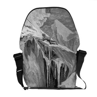 The Bergschrund on the Dent Blanche in 1865, from Messenger Bag