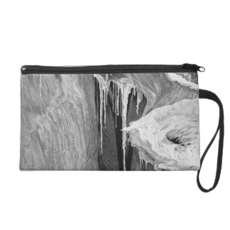 The Bergschrund on the Dent Blanche in 1865, from Wristlet Purse