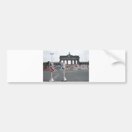 The Berlin Wall Car Bumper Sticker