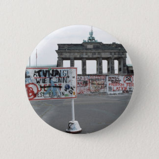 The Berlin Wall Pinback Button