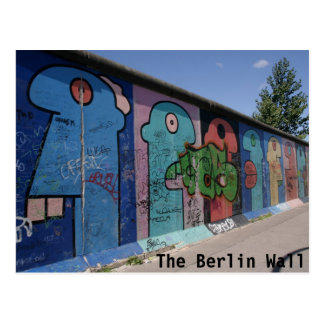 The Berlin Wall Postcard