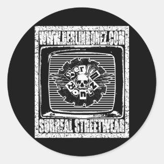 The Berlinbonez Logo T Shirt - SURREAL STREET  Sticker