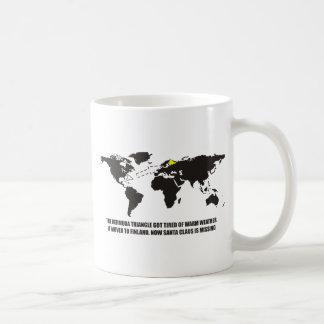 The Bermuda Triangle got tired of warm weather Coffee Mug