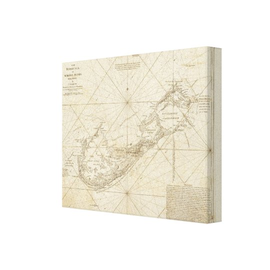 The Bermudas or Summer's Islands Canvas Print