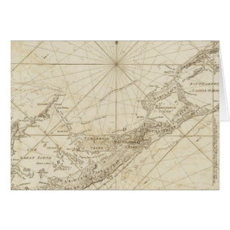 The Bermudas or Summer's Islands Card