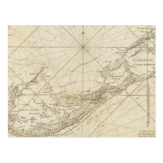 The Bermudas or Summer's Islands Postcard