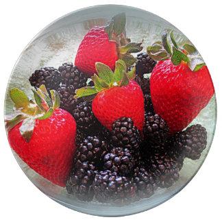 """The Berries"" Dinner Plate"