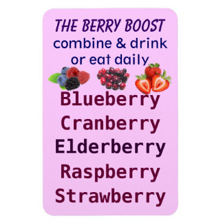 The Berry Boost magnet
