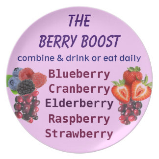 The Berry Boost plate