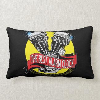 The Best Alarm Clock Is Sunshine On Chrome Lumbar Pillow