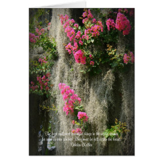 The best and most beautiful thing... greeting card
