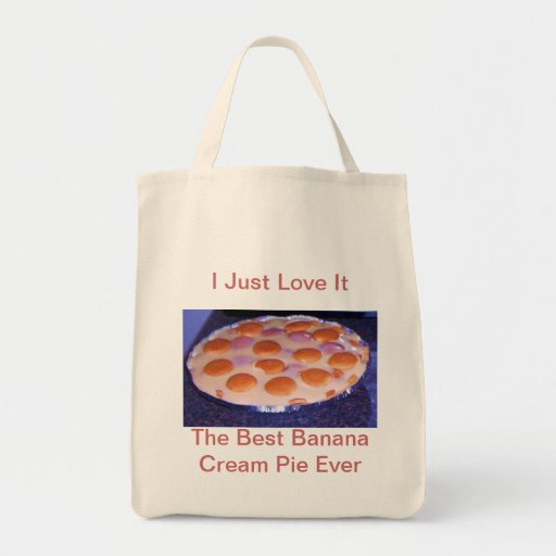 The Best Banana Cream Pie Ever Tote Bag