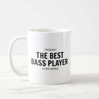 The Best Bass Player Mug