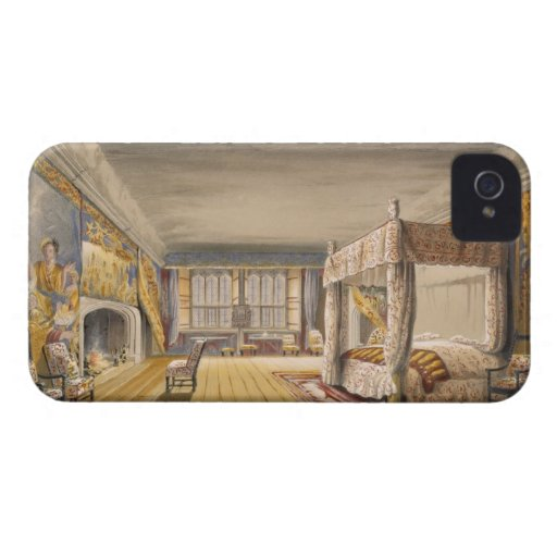 The Best Bedroom, Cotehele House, c.1830-40 (colou Case-Mate iPhone 4 Cases