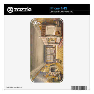 The Best Bedroom, Cotehele House, c.1830-40 (colou iPhone 4 Decal
