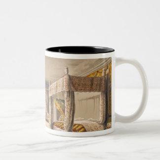 The Best Bedroom, Cotehele House, c.1830-40 (colou Two-Tone Coffee Mug