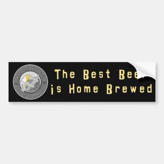 The Best Beer is Home Brewed Bumper Sticker