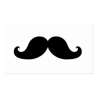THE BEST BLACK MUSTACHE Double-Sided STANDARD BUSINESS CARDS (Pack OF 100)