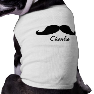THE BEST BLACK MUSTACHE PERSONALIZED SHIRT