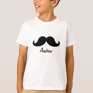 THE BEST BLACK MUSTACHE PERSONALIZED T-Shirt