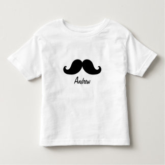 THE BEST BLACK MUSTACHE PERSONALIZED TEES