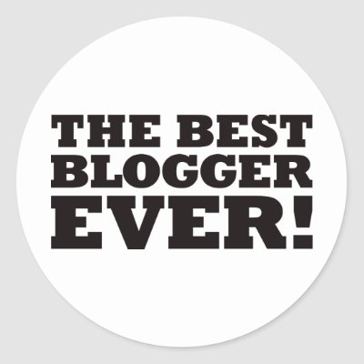 the best blogger ever sticker p217428970842672898envb3 400