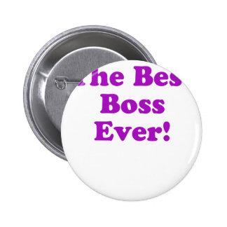 The Best Boss Ever Pinback Button