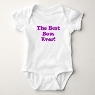 The Best Boss Ever Tee Shirt