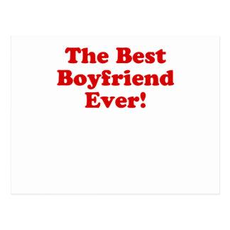The Best Boyfriend Ever Postcard