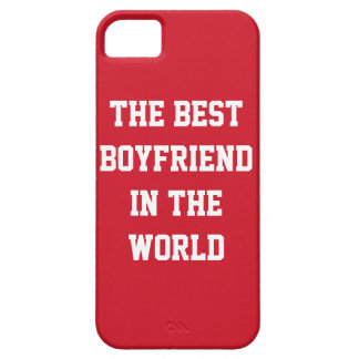 The Best Boyfriend In The World Red iPhone 5 Cases