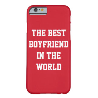 The Best Boyfriend In The World Red iPhone 6 Cases