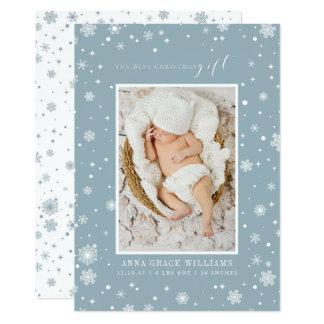 The Best Christmas Gift Newborn Photo Cards