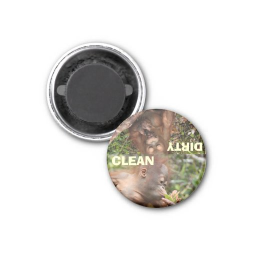 The Best Clean and Dirty Dishes Fridge Magnet