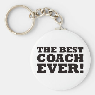 The Best Coach Ever Key Chain