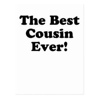 The Best Cousin Ever Postcard