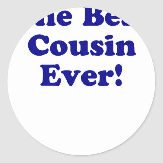 The Best Cousin Ever Sticker