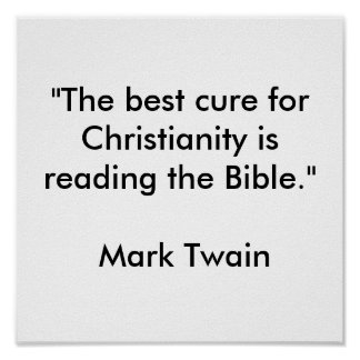 """""""The best cure for Christianity Poster"""