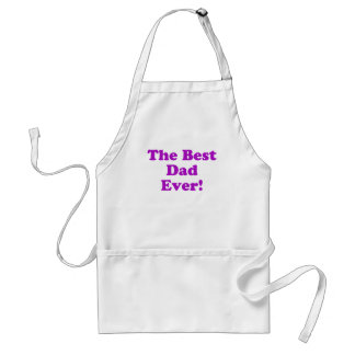 The Best Dad Ever Adult Apron
