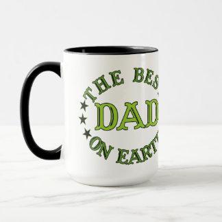 The Best Dad On Earth Green Mug