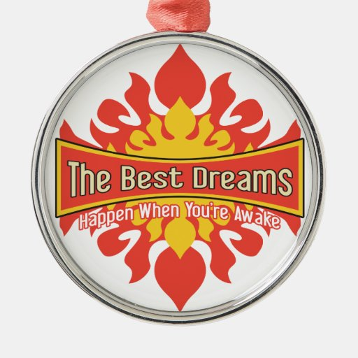 The Best Dreams Christmas Tree Ornament