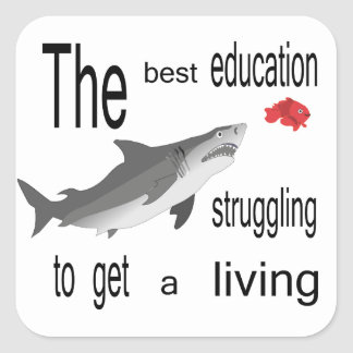 The Best Education Sticker