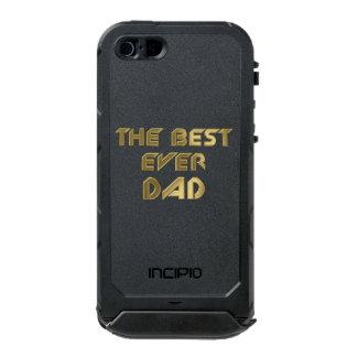 The best ever dad waterproof iPhone SE/5/5s case